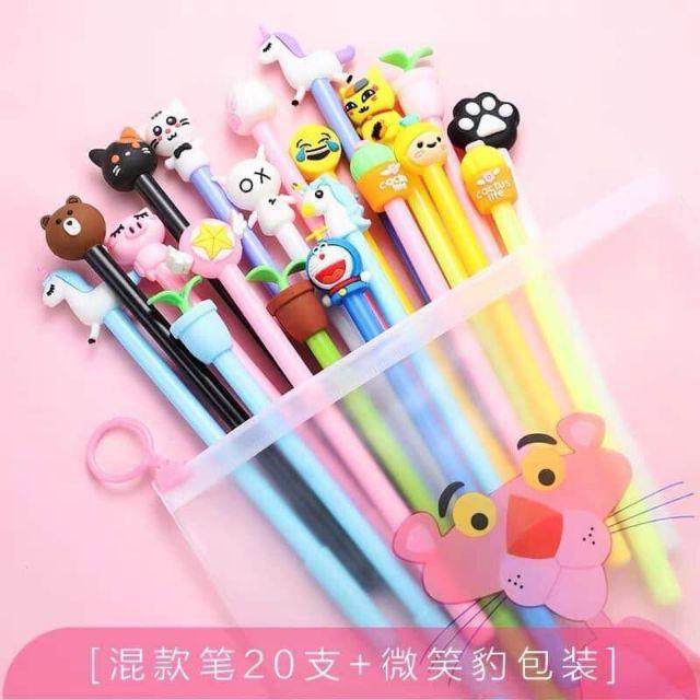 Túi bút cute 20 chiếc