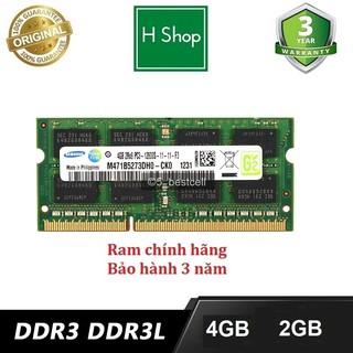 Ram laptop 4gb DDR3L (PC3L) hoặc DDR3 (PC3) bus 1600, 1333 và 1066 dùng cho laptop, và các loại khác, bảo hành 3 năm