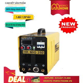 { Hàng_Chính_Hãng } Máy hàn Hồng Ký HK MIG-250 HKMIG250 -3 ( 380V)