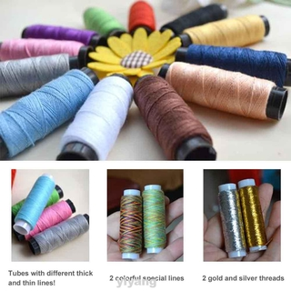 39 Spools Home Patch DIY Craft Assorted Colors With Box Quilting Stitching Tailor For Machine Sewing Thread Kit