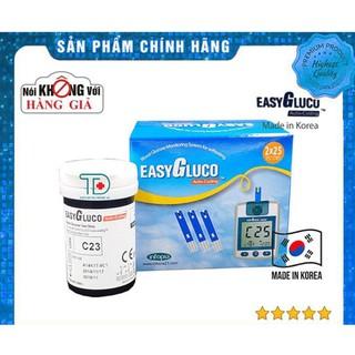 ⚡️Chính hãng⚡️ Lọ 25 que thử đường huyết EasyGluco, tiểu đường Easy Gluco – Đo đường huyết – Phát hiện tiểu đường