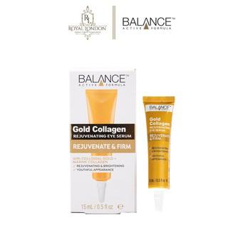 Serum Tái Tạo Và Dưỡng Da Mắt Balance Active Formula Gold Collagen Rejuvenating eye 15ml