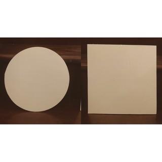 Đế đựng bánh sinh nhật 2 mặt trắng và bạc đế vuông hoặc đế tròn các đường kính ( đế đựng bánh Gato )