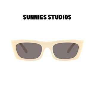 Kính mát Sunnies Studios Gọng Vuông Zio in Panda thumbnail
