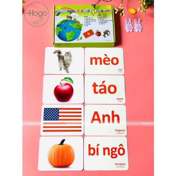 THẺ HỌC THÔNG MINH CHO CON TỪ 2m ( ib để đc hướng dẫn cách dậy chuẩn ₫