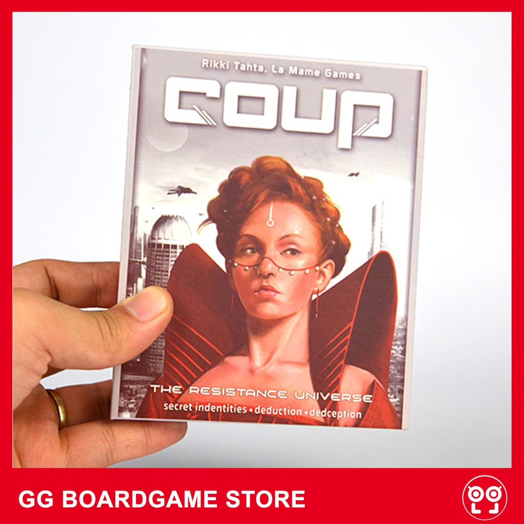 Bộ game Coup – Cuộc chiến quyền lực