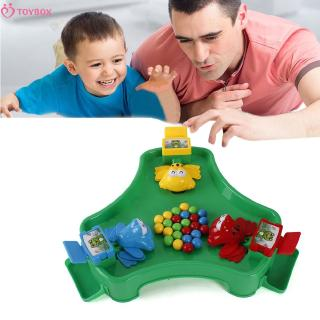 Baby Feeding frogs eating beans casual brainboard games, parent-child game toys puzzle toys