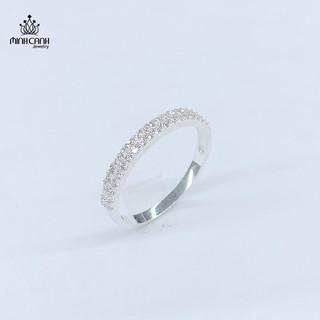 [Mã MCJ20 giảm 20K đơn từ 199K] Nhẫn Bạc Nữ 2 Hàng Đá - Minh Canh Jewelry thumbnail