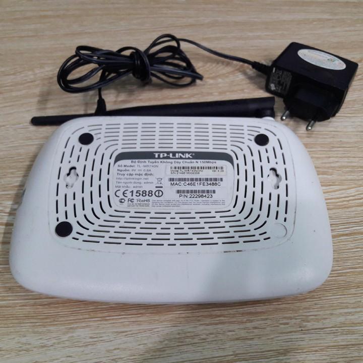 Bộ phát wifi TPLink TL-WR740N tốc độ 150Mbps - Bộ phát wifi TpLink 740N cũ hàng chính hãng