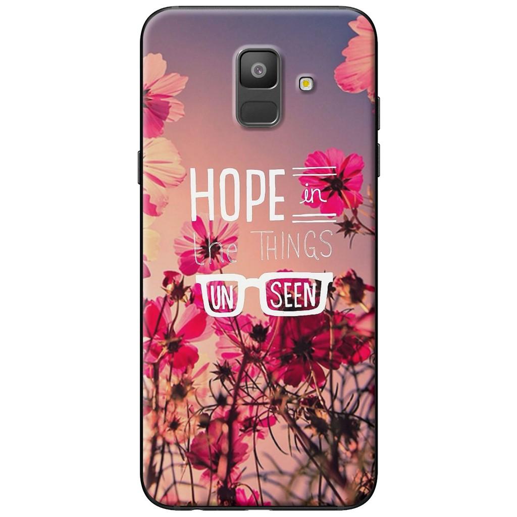 Ốp lưng nhựa dẻo Samsung A6 2018, A6 Plus Hope