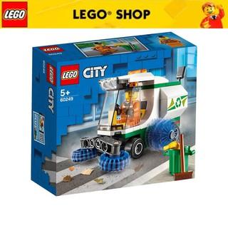 LEGO CITY 60249 Xe Quét Đường ( 89 Chi tiết) thumbnail
