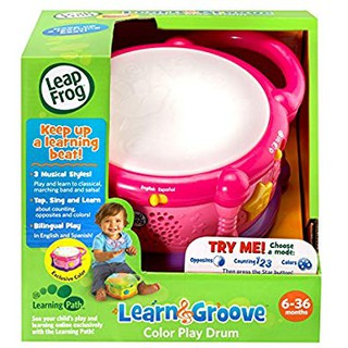 LeapFrog TRỐNG NHẠC Learn Groove Color Play Drum