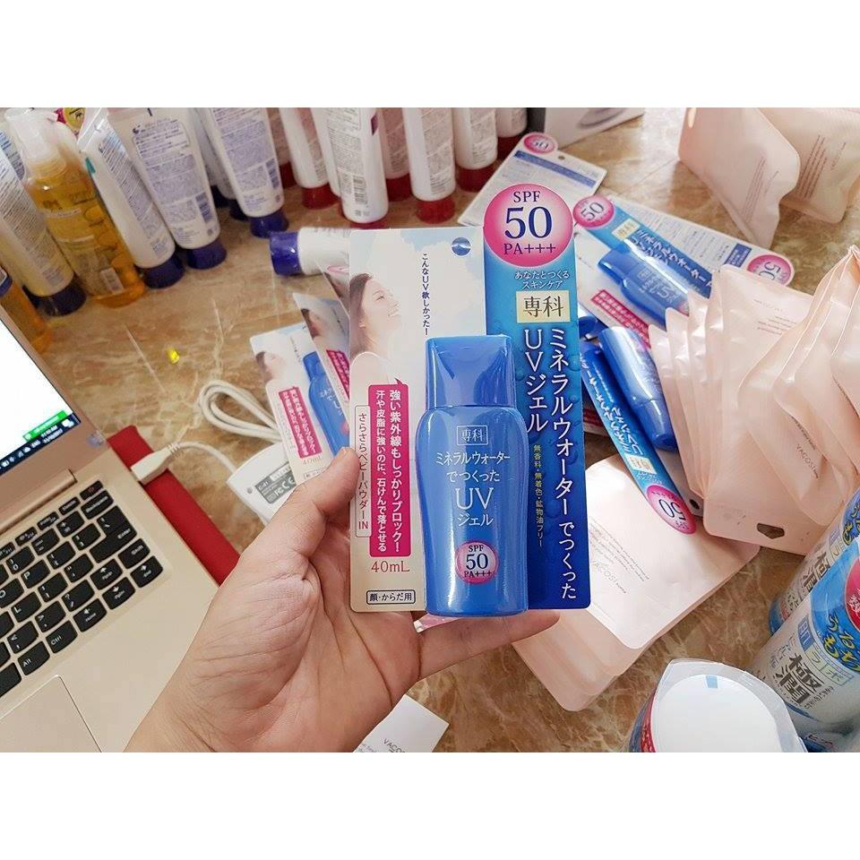 Kem chống nắng Nhật Bản Mineral water 40ml