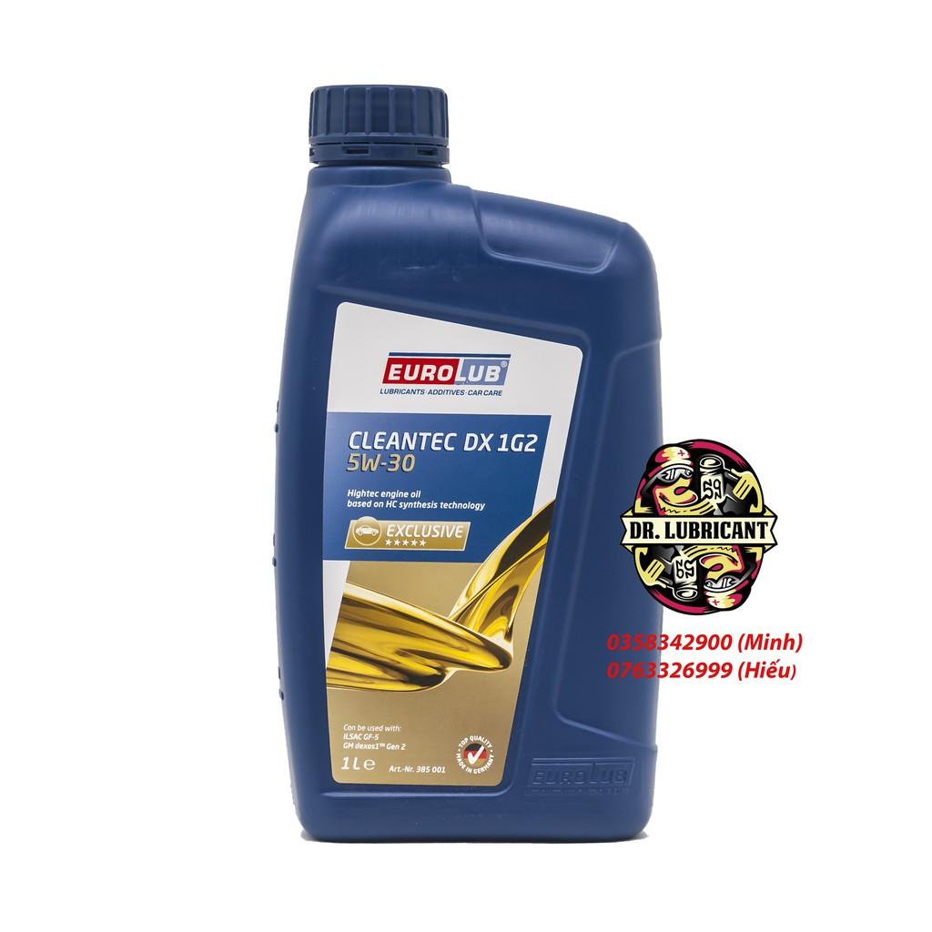 Nhớt tổng hợp cao cấp cho xe tay ga Eurolub Cleantec DX 1G2 5W-30 nhiều dung tích