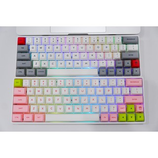 Bàn phím cơ Bluetooth Geek SK61 – SK64 – Full led RGB – Keycap PBT cực xịn