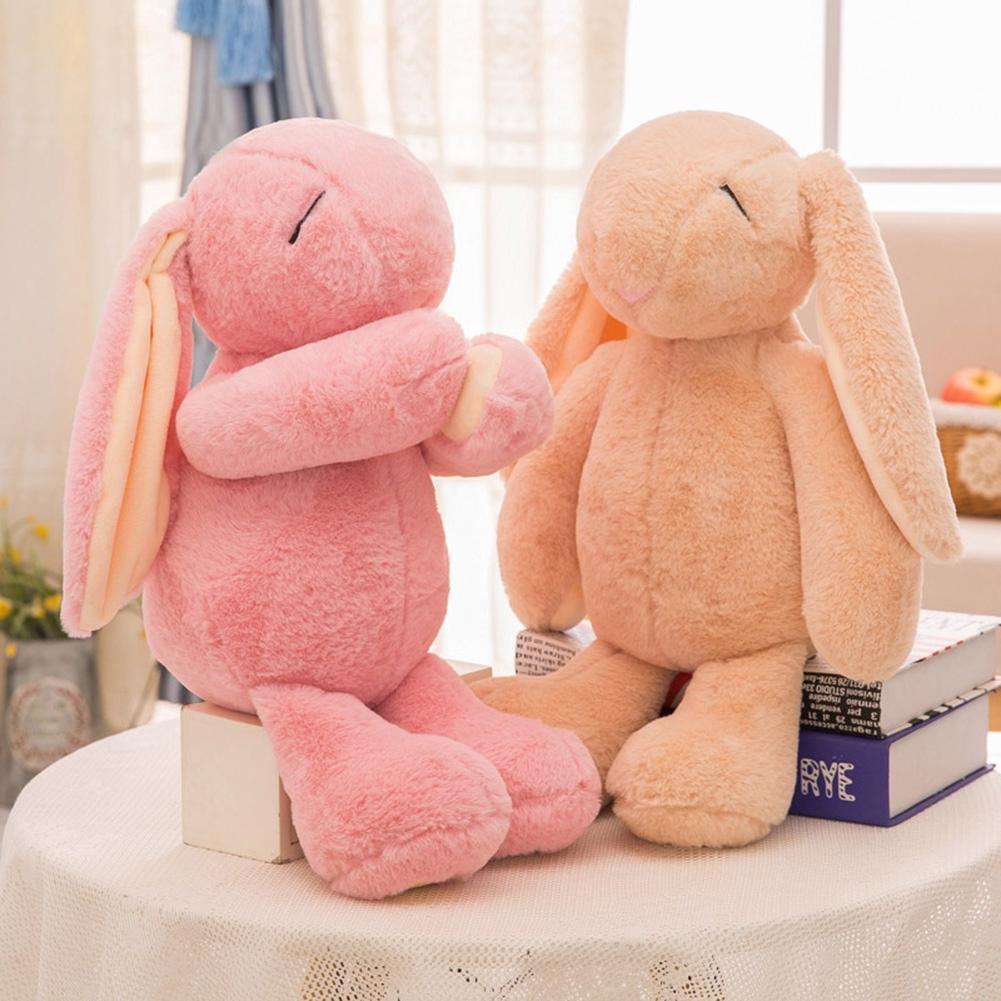 Stuffed Toys Soft Kids Gift Baby Cartoon Sleeping Rabbit Animal Cute Plush Doll