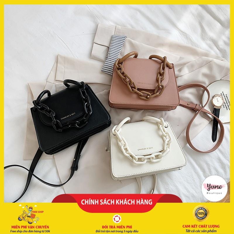Túi xách nữ đẹp, túi xách nữ quai xích thiết kế thời trang, hàng loại đẹp, xịn xò mã DT215