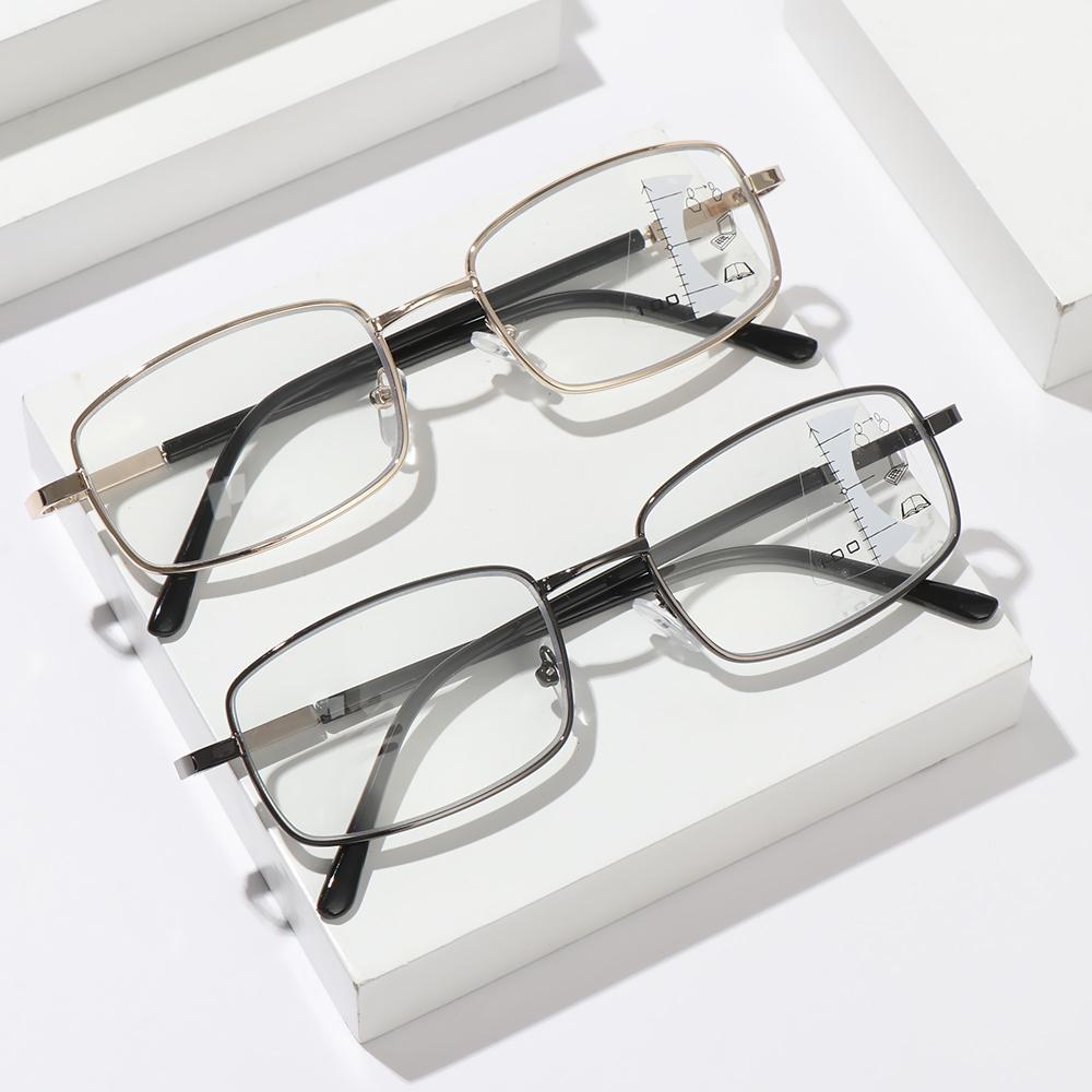 DORAW Anti-fatigue Progressive Presbyopic Eyeglasses Radiation Protection Computer Goggles Anti Blue Light Reading Glasses Anti-UV Men Women Fashion Anti-blue Rays...