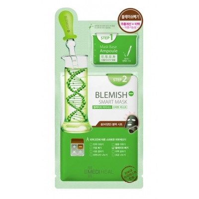 Mặt nạ hai bước làm dịu da cung cấp dưỡng chất cho da mụn Mediheal Blemish Minus Smart Mask 25ml - 21554832 , 1360324082 , 322_1360324082 , 94000 , Mat-na-hai-buoc-lam-diu-da-cung-cap-duong-chat-cho-da-mun-Mediheal-Blemish-Minus-Smart-Mask-25ml-322_1360324082 , shopee.vn , Mặt nạ hai bước làm dịu da cung cấp dưỡng chất cho da mụn Mediheal Blemish