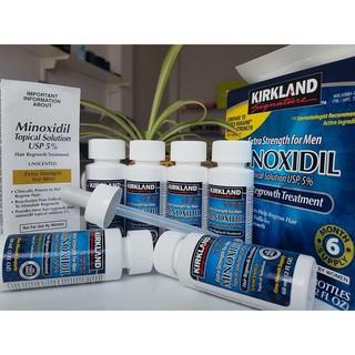 [TẶNG ỐNG BƠM] – Thuốc Mọc Râu Tóc Kirkland Minoxidil 5% Dạng Lỏng Chính Hãng Mỹ