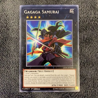 Thẻ bài Yugioh – Gagaga Samurai – LED6-EN040 – Common 1st Edition