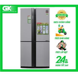 FX680V - Tủ lạnh Sharp Inverter 678 lít SJ-FX680V ST