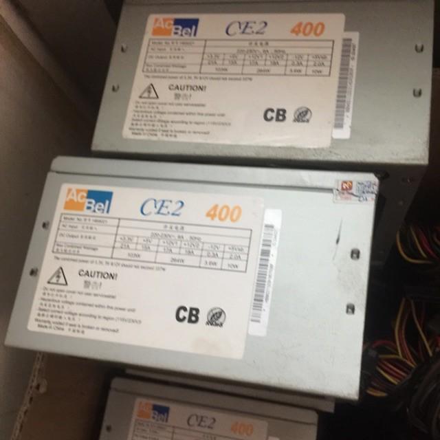 Nguồn máy tính AcBel CE2 400w công suất thực có nguồn phụ 8pin Vga