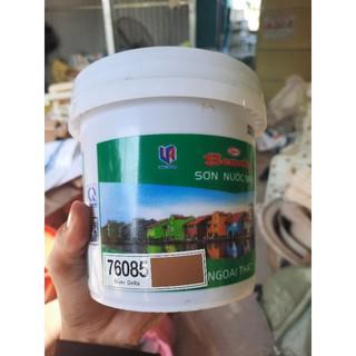 Sơn màu hộp 1l tương đương 1.4 kg