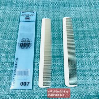 Lược cắt tóc 007, lược cắt tóc nam nữ răng dày và răng thưa (Ảnh thật) thumbnail