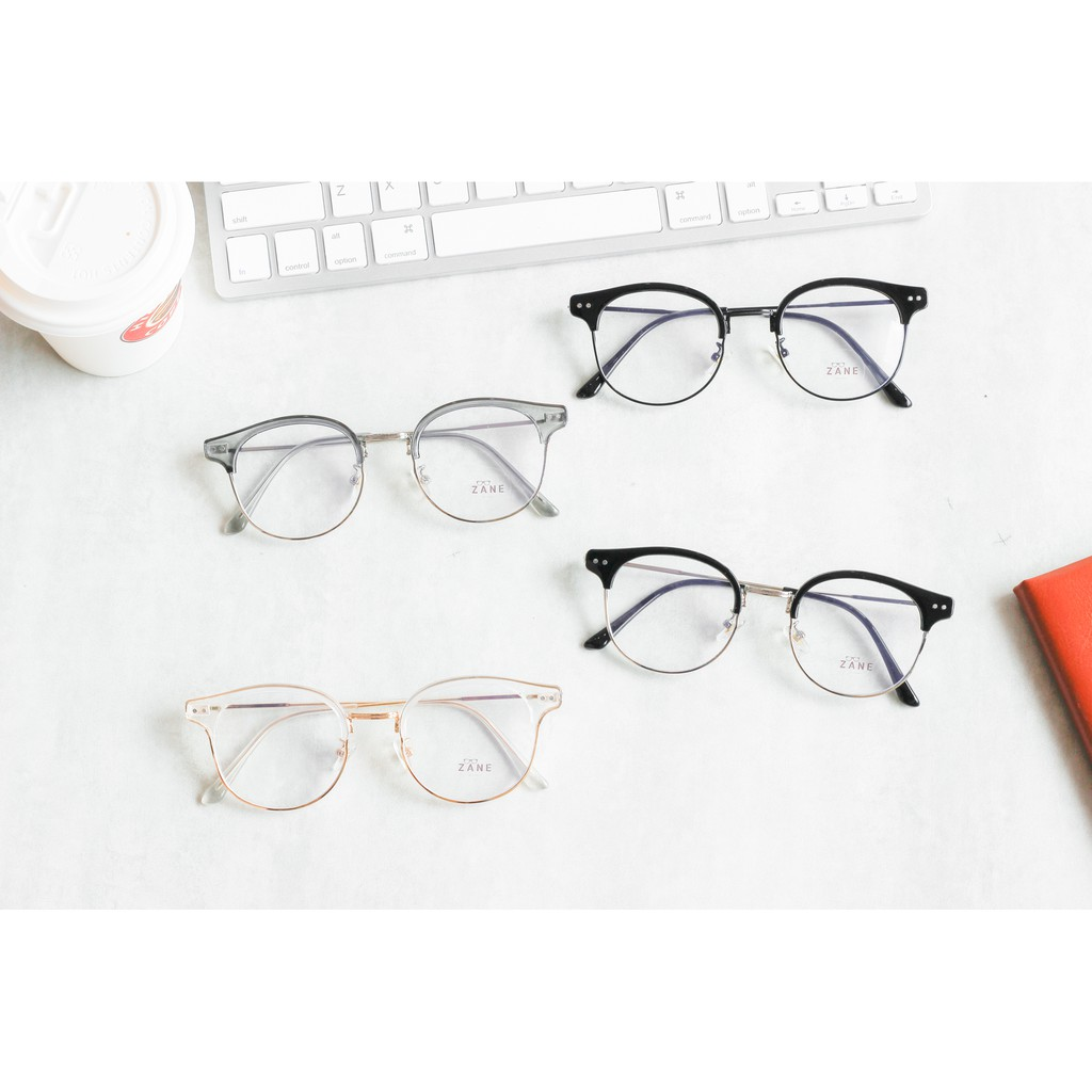 [LẮP SẴN CẬN ] – GỌNG KÍNH CẬN NAM, mắt kính nam , kính clubmaster Z6102