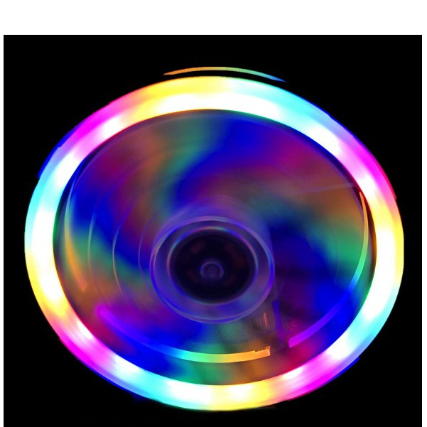 Fan led tải nhiệt coolmoon RGB và dual ring cho máy tính