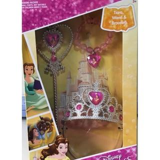 Đồ chơi trang sức Người đẹp và Quái vật của Disney dành cho bé gái , Wand and Bracelet Set