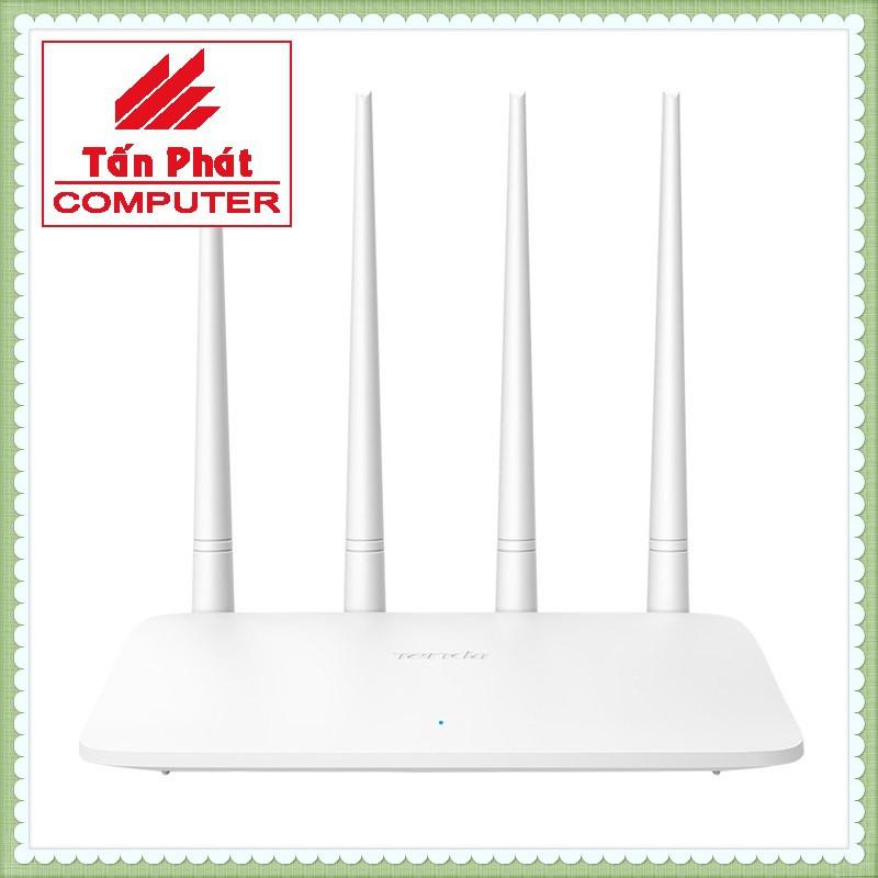 Thiết bị phát sóng WIFI 4 anten tốc độ 300M TENDA F6 v4 - MU MIMO