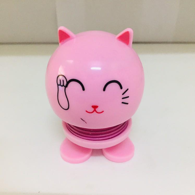 Emoji thú nhún lò xo mèo thỏ gấu_otkay