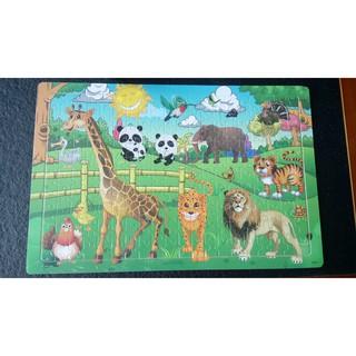 Tranh ghép động vật vườn thú 200 mảnh