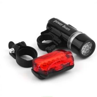 Đèn LED gắn xe đạp cả đèn dán sau xe VRG007918