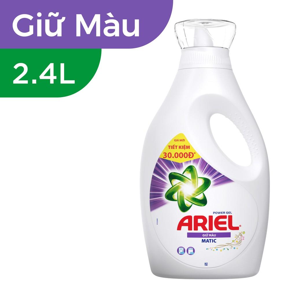 Ariel Giữ Màu nước giặt Chai 2.4L