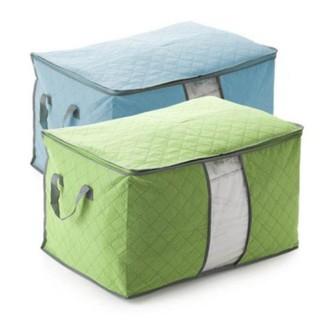 Túi vải to kích thước 60×40*36 cm không dệt đựng quần áo chăn màn tiện dụng,đồ dùng gia đình tiện ích nhỏ gọn dễ cất xếp