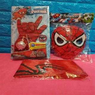 Mặt nạ người nhện siêu anh hùng Spider Man