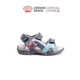 Dép Quai Hậu Bé Trai Đi Học Chính Hãng Crown Space UK Sandals Trẻ em Nam Cao Cấp CRUK526 Nhẹ Êm Size 26-35 2-14 Tuổi thumbnail
