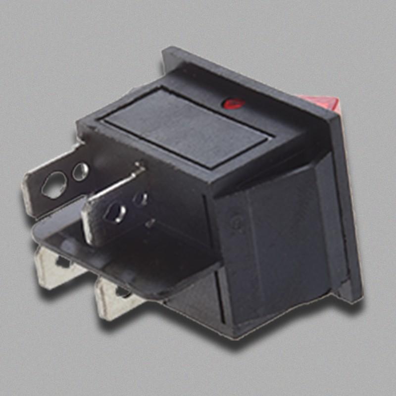 Công Tắc Bật/Tắt Đèn Led Đỏ 4 Pin Dpst 16a 20a 250v Ac