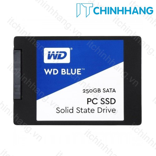 Ổ Cứng SSD WD Blue 3D NAND 250GB WDS250G2B0A (2.5 inch)