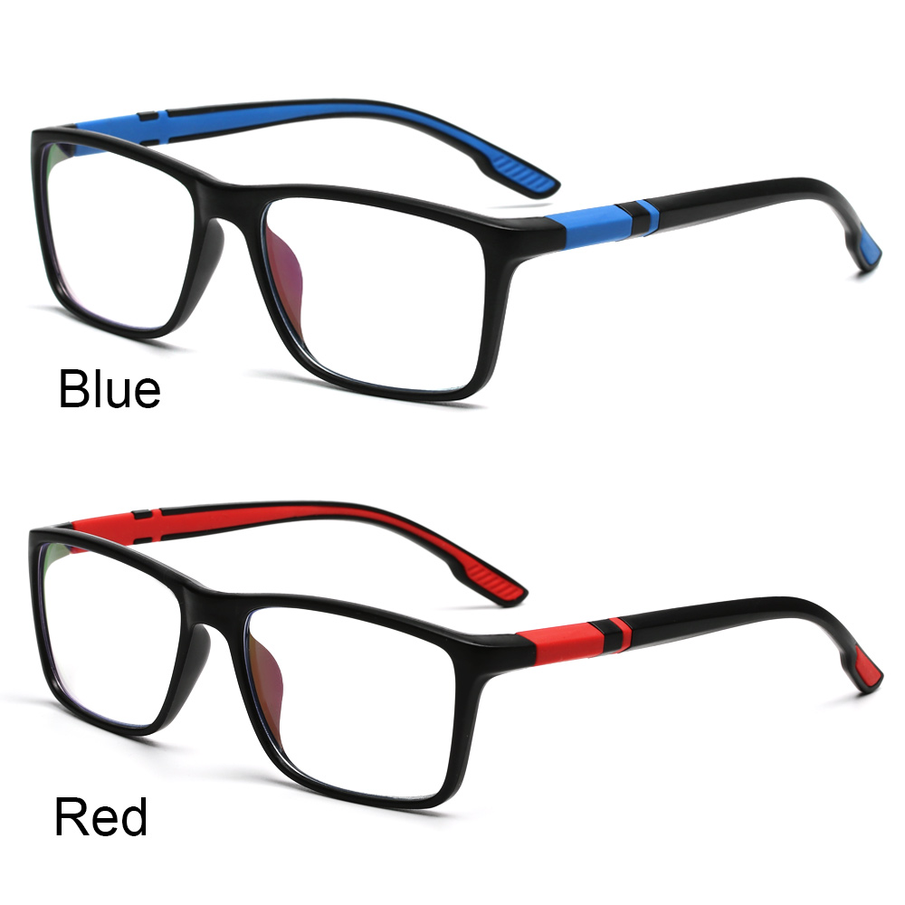 ROW Fashion Reading Glasses Comfortable Progressive Multifocal Lens Anti-Blue Light Eyeglasses Portable Women Men Eye Protection Vintage Ultra Light Frame/Multicolor