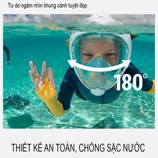 Kính Bơi Kính Lặn Biển Cao Cấp Dành cho cả Người Lớn và Trẻ em từ 4 tuổi thumbnail