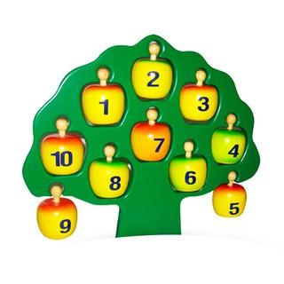 Cây táo học chữ và số