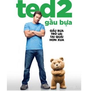 Gấu bông Ted2 siêu bựa ( Size 35cm)