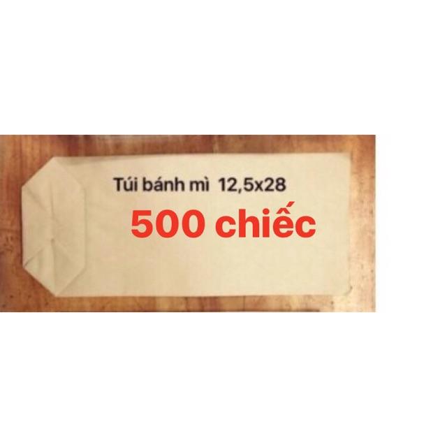 Combo 500 túi giấy xi măng loại túi 1 dài kt 12x27