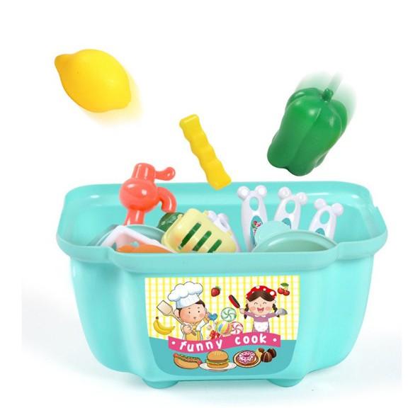 Bộ đồ chơi nấu ăn mini nhiều chi tiết siêu đáng yêu cho bé