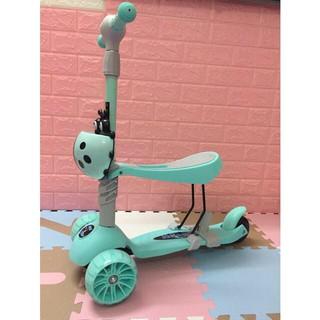 [Giá Hủy Diệt] Xe trượt scooter 5in1 cho bé (loại không có tay đẩy)