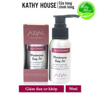 Dầu massage body AZIAL Soothing Moisturizing Body Oil 50ml, dưỡng ẩm, giảm đau cơ bắp, thư giãn tinh thần thumbnail